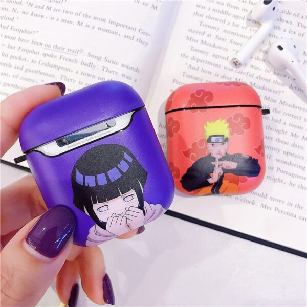 Cartoon anime Pattern For Apple Airpods Case Funny Cute Bluetooth Earphone Cover Silicone Headphone Case For airpods Headset bag