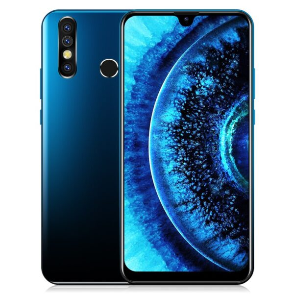 "XGODY 7.2"" Smartphone Android 9.0 19:9 Waterdrop Dual SIM Mobile Phone MTK6580 Quad Core 1GB 4GB 3000mA WiFi 3G A70S Cell Phones"