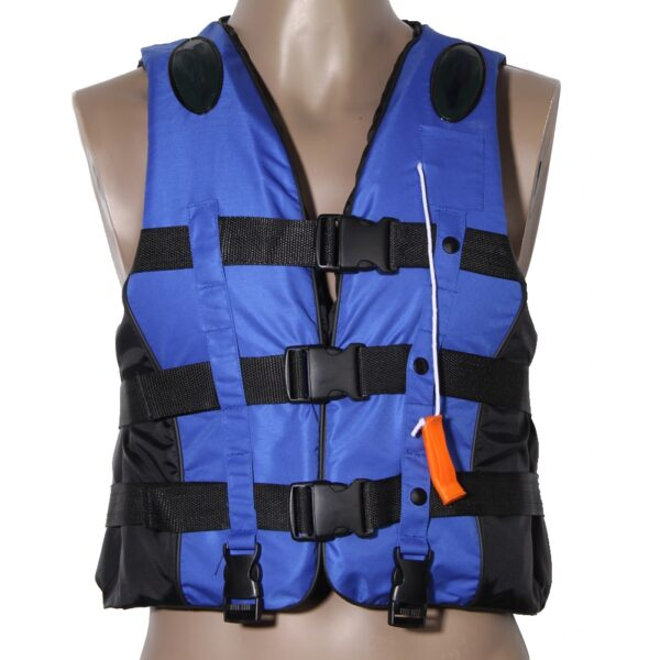 Polyester Adult Life Vest Jacket Swimming Boating Drifting Life Vest with Whistle Water Sports Safety Man Jacket Feminina Mujer