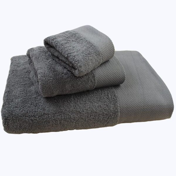 Wholesale Lots Salon Cotton Gray Face Towel Foot Bath Steaming Hotel Hotel Thicken Beauty Salon Bed Towel Sets Bathroom Towels