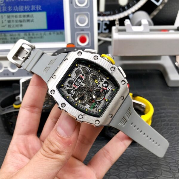 Limitde Edition Richard Automatic Watch Mens Watches Top Luxury Brand mille's mechanical wristwatch Silicone strap DZ clock gift