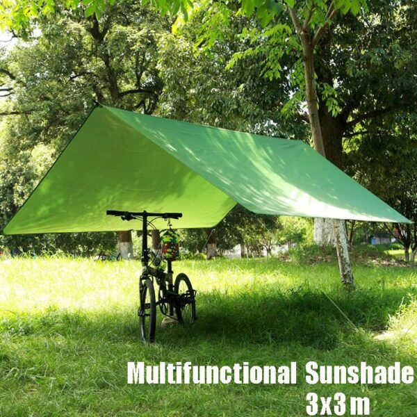 Multifunction rain proof beach fishing Hiking Hike awning canopy tarp outdoor park camping pergola canopy tent