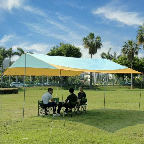 Camping Beach Canopy Sun Shelter Party Tent Gazebo Camouflage Waterproof Garden Outdoor Marquee Awning Shade Pop up big large