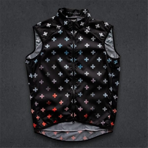 extremely lightweight mesh Cycle sleeveless Vests Windproof Bike gilet Road Bicycle Jersey Cycle ciclismo Clothing Wind Coat